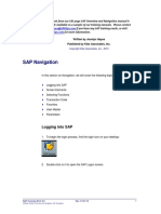 Erptips Sap Training Manual Sample Chapter From Basic Overview and Navigation