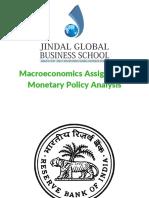Indian Monetary Policy Analysis (2010-2017)
