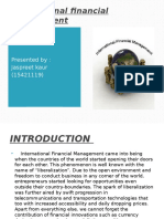 Introduction of International Financial Management