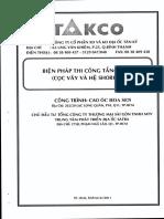 Biện Pháp Thi Công Tầng Hầm Cọc Vây Và Hệ Shoring Cao Ốc Hoa Sen - Phạm Hào Quang, 29 Trang.pdf