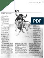 Dragon #97 - Ecology of the Gorgon