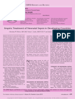 Empiric Treatment of Neonatal Sepsis in Developing.24