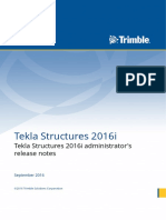 2.Tekla Structures 2016i Administrator's Release Notes