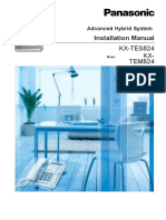 PA824 Installation Manual