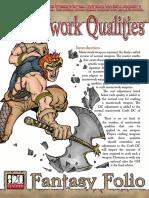 d20 Big Finger Games Fantasy Folio Masterwork Qualities