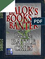 d20 Dog Soul Balok's Books of Banter Book 2 - Battle Cries.pdf