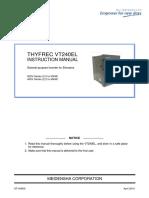 VT240EL InstructionManual ST-3495 RevD