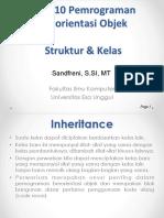 Inheritance & Polymorphisme