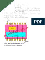 IC 4017 Datasheet