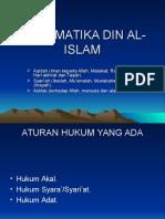 SISTEMATIKA DIN AL-ISLAM2.ppt