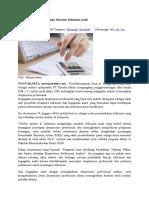 Auditor Di Indonesia Hadapi Masalah Defisiensi Audit