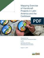 IDB Handicraft Mapping Exercise Abridged Version