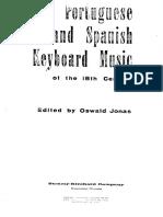 Portuguese and Spanish Keyboard Music