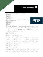 Contoh Soal Latihan Ukomnas b