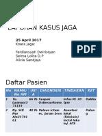 Lapjag 25 April 2017