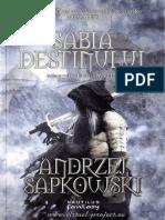 Andrzej Sapkowski - The Witcher 2 Sabia destinului [V1.0].docx
