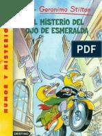 Geronimo Stilton-El Misterio Del Ojo Esmeralda