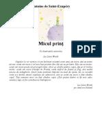 Antoine de Saint-Exupéry - Micul prinţ.pdf