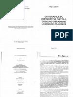 M. Ljubetić - Od Suradnje Do Partnerstva