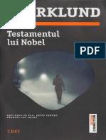 Liza Marklund - Testamentul Lui Nobel