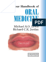 A Colour Handbook of Oral Medicine - M. Lewis, R. Jordan (Manson, 2004) WW.pdf