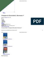 Principios de Electricidad y Electronica V