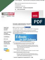 Check of ERP-EWM Configuration