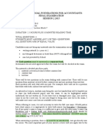 2015 2 TABL5512 Exam Info