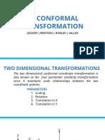 2D Conformal Transformation