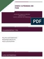 Medicina III - Manifestaciones Cutaneas en Colagenopatias