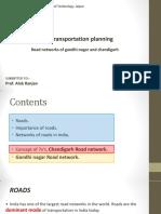 Road Networks of Chandigarh and Gandhi Nagar