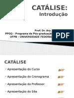 CATÁLISE - 1 Introdução