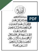 Allah Darood