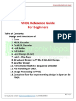VHDL Reference Guide v1 17th May 2016 Prepared by Digitronix Nepal