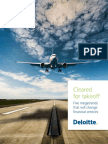 Cleared for Takeoff - Five megatrends