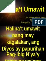Halina't Umawit