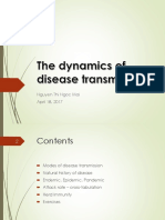 The Dynamics of Disease Transmission
