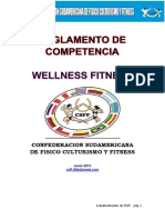 Reglamento Wellness Fitness 2015