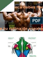 Espalda Biceps