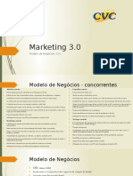 Marketing 3.0 - CVC