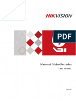 User Manual of Network Video Recorder