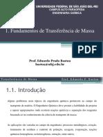 1-Capítulo 1 - Fundamentos de Transferência de Massa - Eduardo Baston.pdf