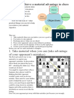 6 Ways to Achieve a Material Advantage in Chess