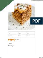 Lasagna Bolognese - Reteta Video _ JamilaCuisine