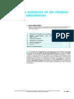 J1302_Transfert de Matières Et de Chaleur Au Sein Des Adsorbants