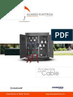 Catalogo Alianza Accesorios Para Cable MONOPOLARES