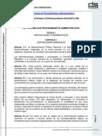 Ley Orgánica de Procedimientos Administrativos