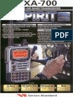 VXA 700 Brochure