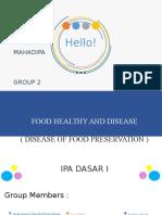 Makanan Dan Penyakit