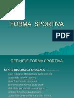 FORMA_SPORTIVA, starea de start, pregatire biologica de concurs, refacere.ppt